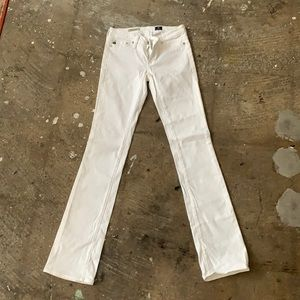 AG Adriano Goldschmied White Jeans